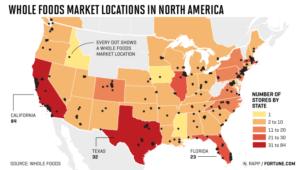 Amazon Whole Foods Distribution Network