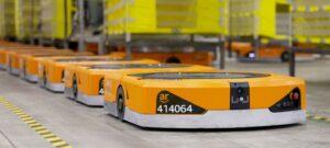 Amazon robots automate the warehouse