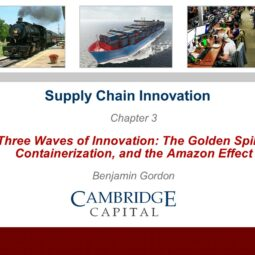 Chapter Three: Three Waves of Innovation in Supply Chain Investment