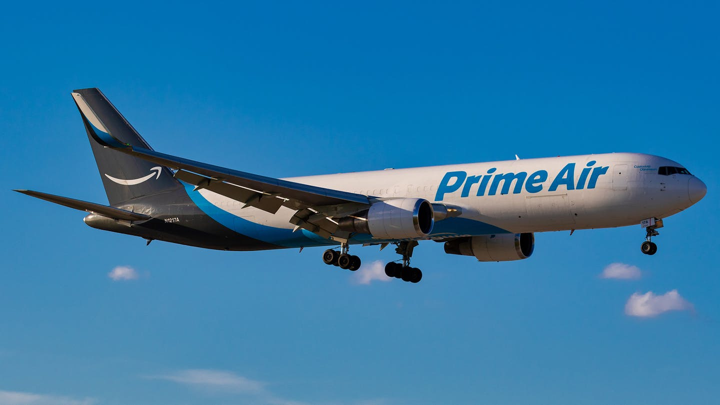 Amazon is disrupting logistics, from the air, ground, and elsewhere