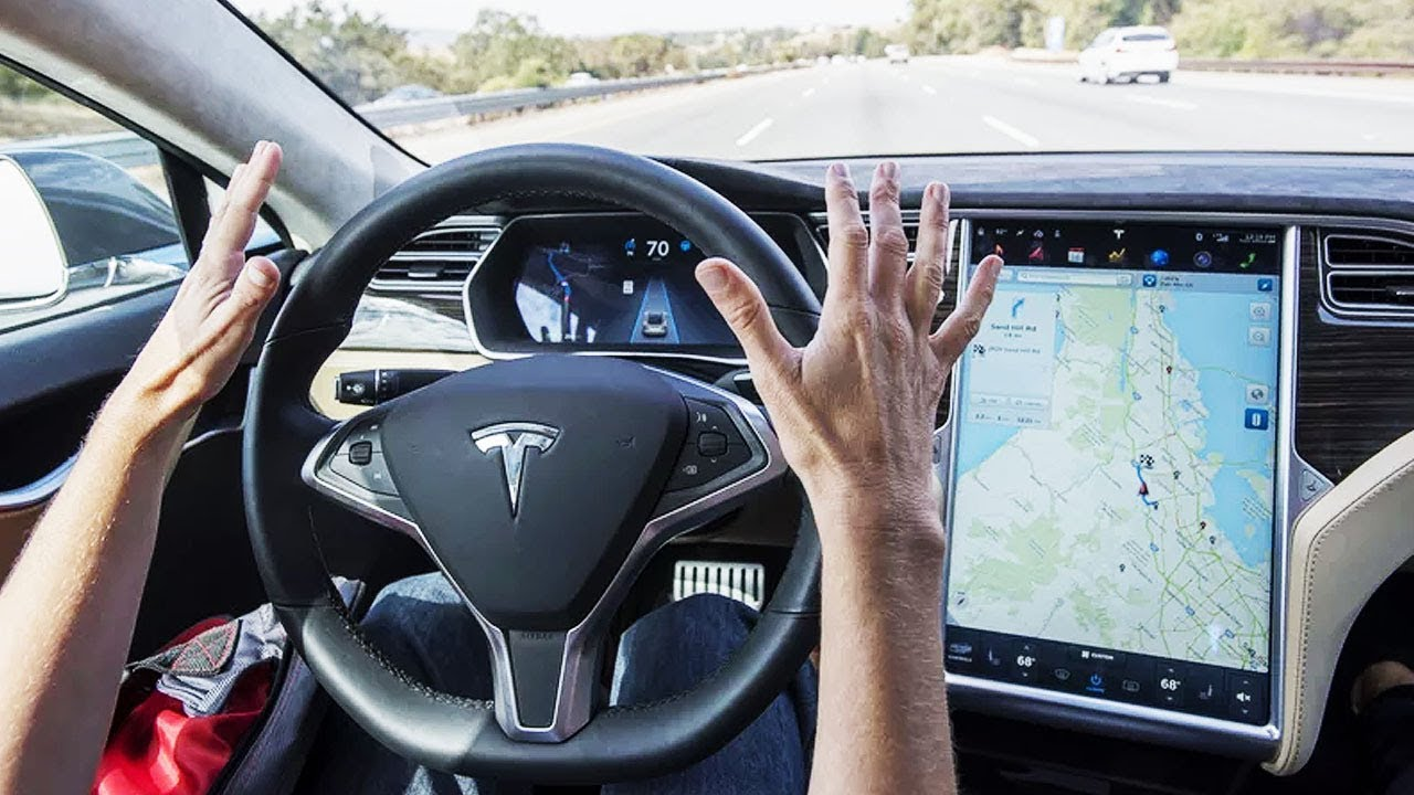 driverless Tesla is feature-complete