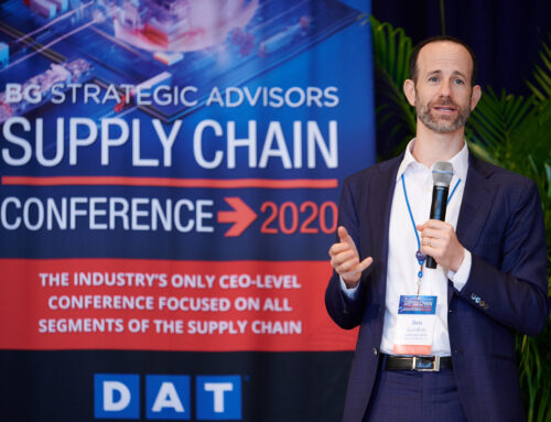 BGSA Supply Chain Conference 2020: Interview with Ben Gordon, in Logistics Management